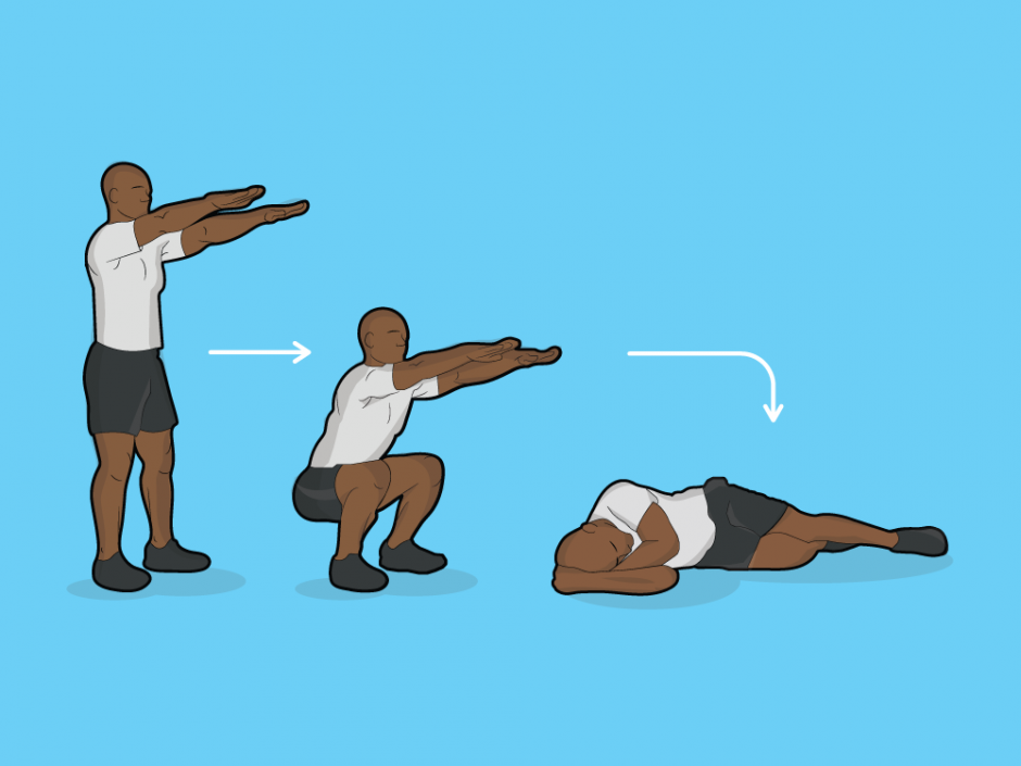 30-Day Squat Challenge: An Illustrated Guide - Kodi Seaton